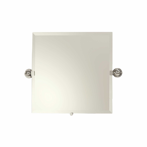 "Ginger 0141N Motiv-City 212 20"" x 20"" Small Frameless Pivoting Mirror"
