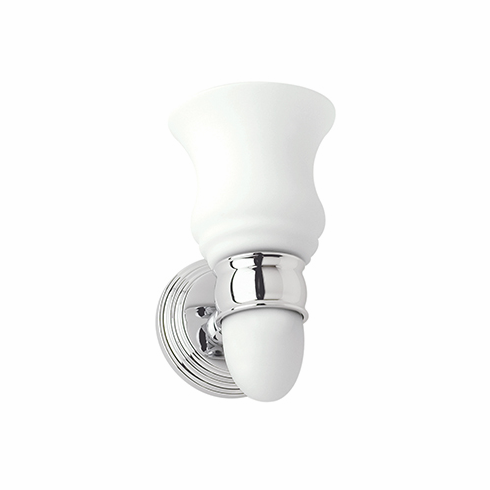Ginger 1181SO Chelsea Light with Satin Opal Glass with Nightlight