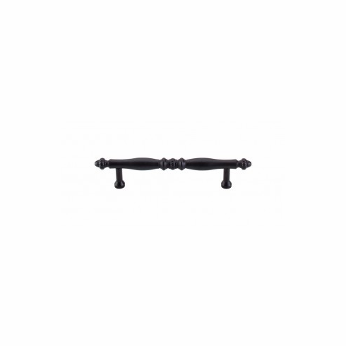 "Top Knobs M814-96 Appliance Somerset Melon Pull 3 3/4"" (c-c) - Patina Black"