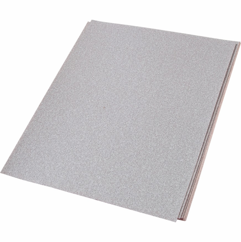 """Hafele 005.32.407 Sheets, 9"""" x 11"""", aluminum oxide, premier red, 280 grit, paper, B weight, 100 per package"""