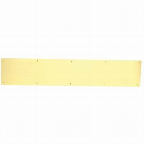 "Kick Plates, Mop Plates, Door Protection Plates (8400): 4"" to 24"" Height, 24"" to 48"" Width (0.050"" Thick) - All materials & finishes"