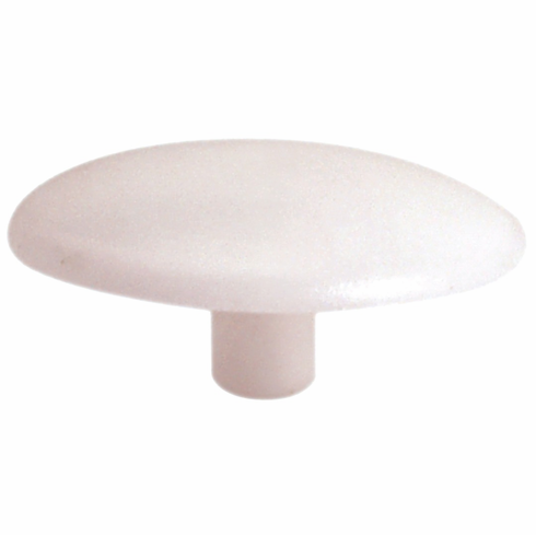 Hafele 045.01.713 Cover Cap, plastic, white, 15mm diameter, 3mm post diameter