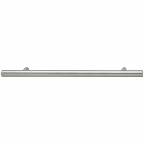 Hafele 101.20.753 Handle, steel, stainless steel, 100ST43, M4, center to center 128mm (each)