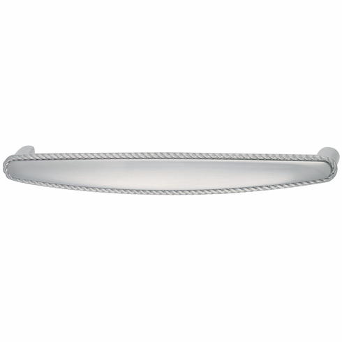 Hafele 125.68.052 Handle, Americana, zinc, stainless steel, 100ZN49, M4, center to center 128mm (each)