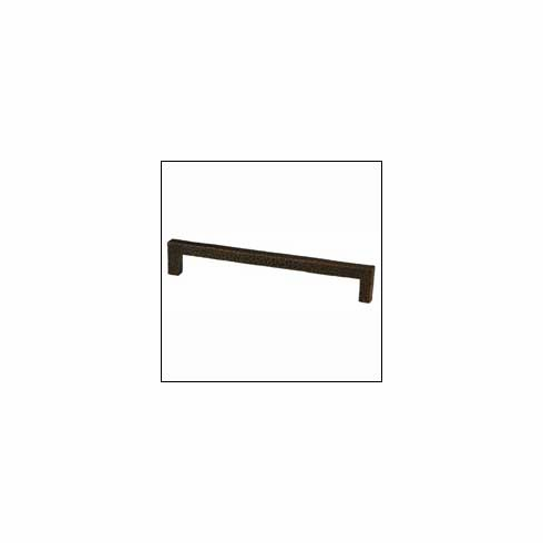 Waterwood Modern Rustic Collection 176-ORB ; 176 ORB Square Pull Dimension 7 inch Projection 1 1/4 inch Oil Rubbed Bronze