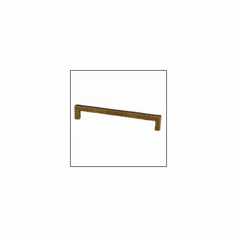 Waterwood Modern Rustic Collection 176-AB ; 176 AB Square Pull Dimension 7 inch Projection 1 1/4 inch Antique Brass