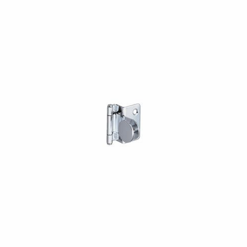 Hafele 361.46.205 Glass Door Hinge, overlay, 4-6mm glass thickness, steel, chrome plated (each)