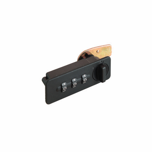 Hafele 231.16.312 Combi-Code Lock 1153, vertical, black (each)