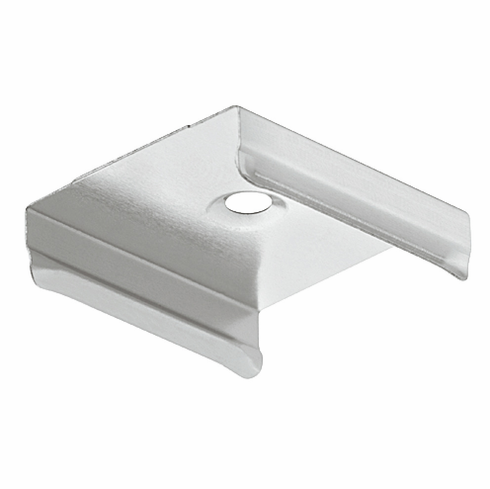 Hafele 833.74.893 LOOX Mounting Bracket, for drawer profile 833.74.835, with bracket clip, plastic, silver (1 pair)