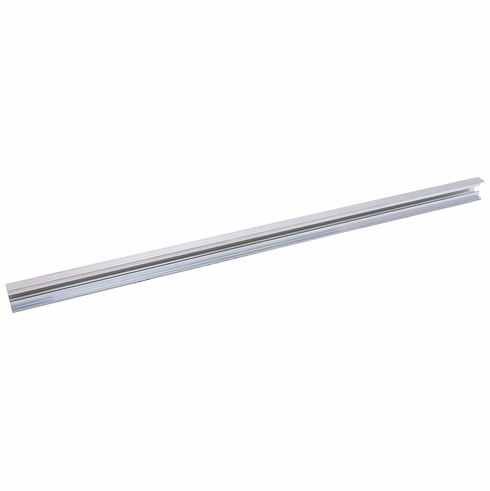Hafele 833.74.894 Floating Shelf Extrusion, aluminum, mill finish, 19.5mm x 13mm, 2.5m
