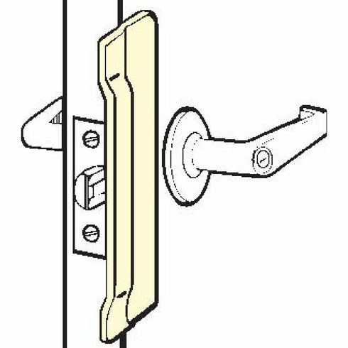 Don-Jo CLP10632D Clp-106 630 Latch Protector 2.125 X 6 In