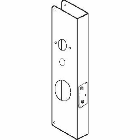 Don-Jo CW61S 61-Cw S Wrap-Around For 2.125 Cylindrical Lock