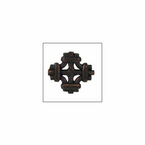 Waterwood Rustic Collection 101-ORB ; 101 ORB Celtic Knot Knob Dimension 1 7/8 x 1 7/8 inch Projection 1 inch Oil Rubbed Bronze