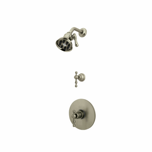 Rohl ACKIT40L-APC **KIT** CISAL THERMOSTATIC SHOWER PACKAGE IN POLISHED CHROME WITH ORNATE METAL LEVERS INCLUDES AC190L/TO 1440/6 WI0123 AND AC31L/TO
