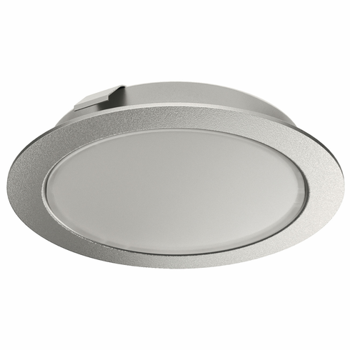 Hafele 833.75.121 LOOX LED 3038, 24V, 3W, puck light, 4000K, 65mm x 12mm, silver, CRI>90 (each)