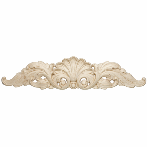 """Hafele 194.78.159 19478159 Carved Onlay, shell, maple, 20 x 4-1/2 x 5/8"""""""