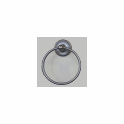 Rusticware 8186 Towel Ring - Weathered Pewter