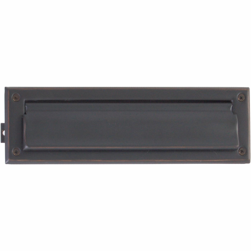 """Brass Accents A07-M0010 Mail Slot - 3.625"""" X 13"""" with Flaps in 14 finishes."""