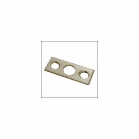 Deltana SP7FB Strike Plate 1 1/2 inch x 5/8 inch for 7 inch Flush Bolt