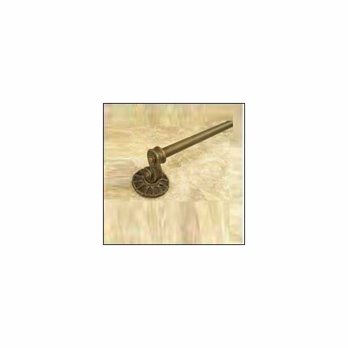 """Anne at Home 1661 24' Corinthia Towel Bar (Anne at Home- Cabinet Pewter 27 x 2.5 x 3.5"""""""