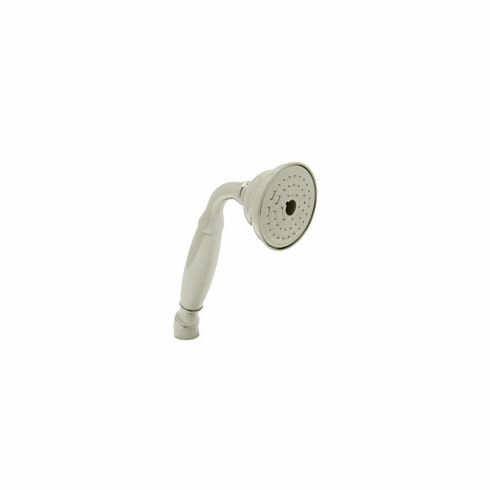 ROHL B204STN Bossini Single Function Handshower In Satin Nickel 1/2^M Connection Brass Construction