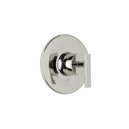 ROHL BA100L-STN **Kit** Rohl Modern Architectural Trim Set To Pressure Balance In Satin Nickel Metal Lever Handle Without Diverter