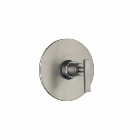 ROHL BA190L-APC/TO Rohl Modern Architectural Trim Set Only To Concealed Thermostatic Mixer Valve Without Volume Flow Control In Polished Chrome With Lever Handle