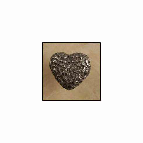 """Anne at Home 221 Cottage Lace Heart (Lw 1041 Cabinet Knob 1.5 x 1.5 x 1"""""""