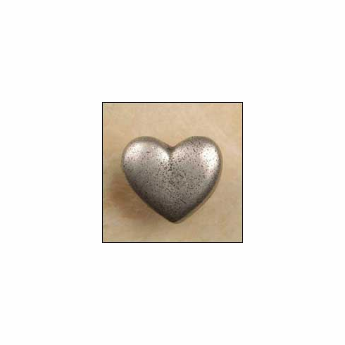 """Anne at Home 261 Heart (Lw 1090 Cabinet Knob 1.25 x 1.25 x 1.25"""""""