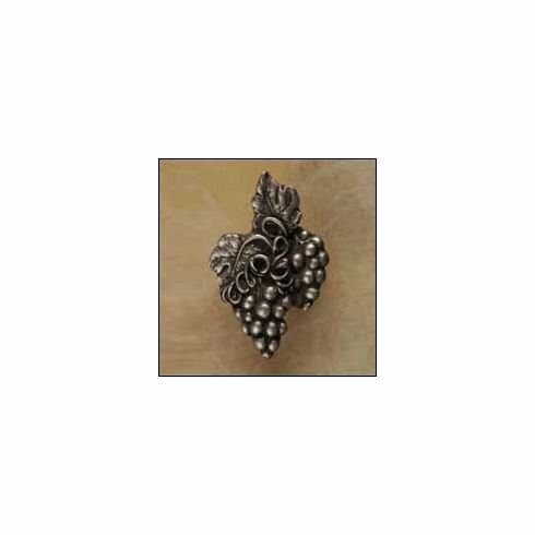 Anne at Home 329 Grape Cluster-Rt Cabinet Knob 1.5 x 2 x 1""