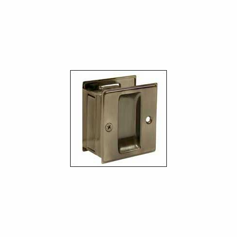 Deltana SDP25 Pocket Lock, Passage 2-1/2 inch x 2-3/4 inch