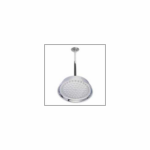 Kingston Brass None K224K2 Shower Head w/Ceiling Supply Combo 8 inch Dia. 17 inch Ceiling