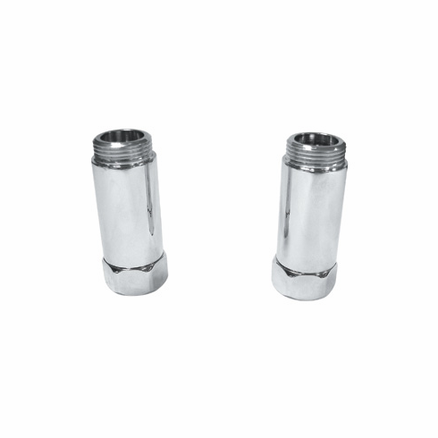 ROHL C5574EXTSTN Rohl Country Bath Pair Of Adaptors Only For The A1401 A2101 A1701 A2701 A1801 And A1901 With New Female Connection To Adapt To The Deck And Floor Unions