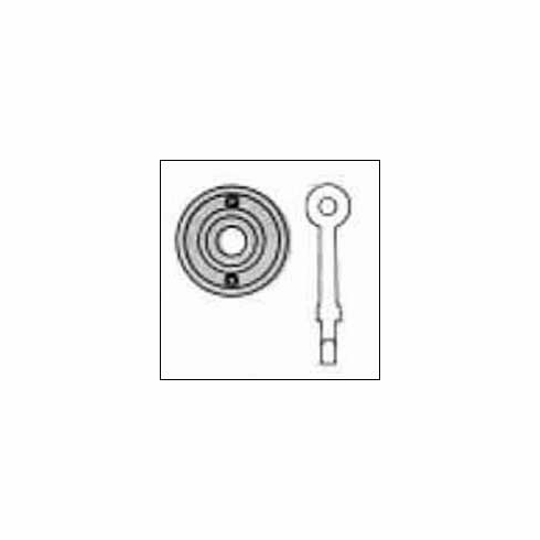 Baldwin 0403 Emergency Release Trim for Mortise Bolts
