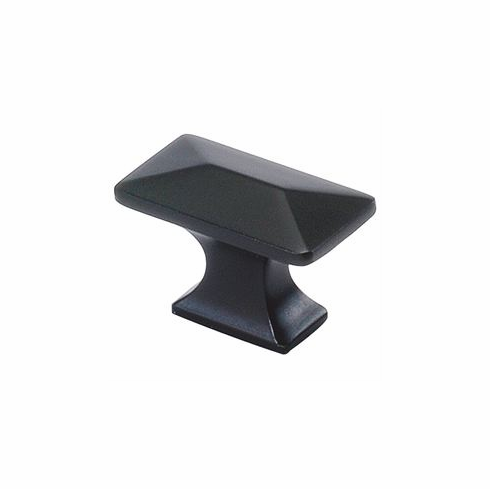 """Belwith/Hickory Bungalow P2150-10B  Knob, 1-1/4"""" X 11/16"""" Oil Rubbed Bronze (EA)"""