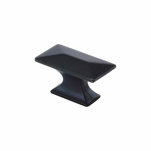 "Belwith/Hickory Bungalow P2151-10B  Knob, 1-3/4"" X 15/16"" Oil Rubbed Bronze (EA)"