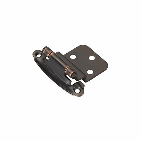 Belwith/Hickory Surface Self-Closing P243-OBH  Hinge, Surface, Self Close Oil-Rubbed Bronze� (EA)