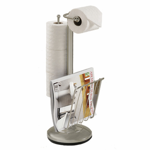 54566 the Toilet Caddy Satin Nickel