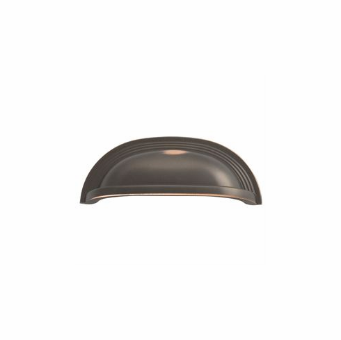 Belwith/Hickory Deco P3104-OBH  Cup Pull, 96Mm C/C Oil-Rubbed Bronze� (EA)