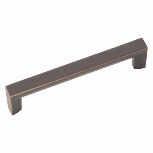 Belwith/Hickory Rotterdam P3112-OBH  Pull, 96Mm C/C Oil-Rubbed Bronze� (EA)