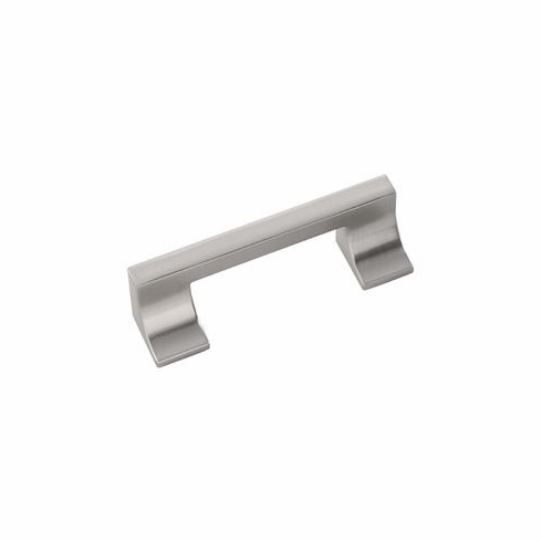 """Belwith/Hickory Swoop P3334-SS  Pull, 3"""" & 96Mm C/C Stainless Steel (EA)"""