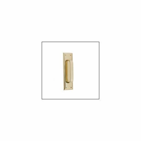 "Brass Accents A07-P5401 Quaker Pull and Plate 2 3/4"" x 10"""