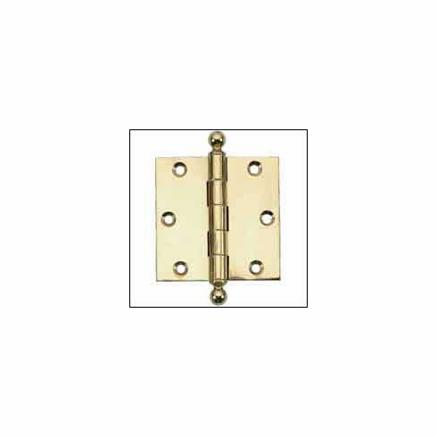"""Brass Accents H07-H8760 Ball Tip Hinge 2 1/2"""" x 2"""""""