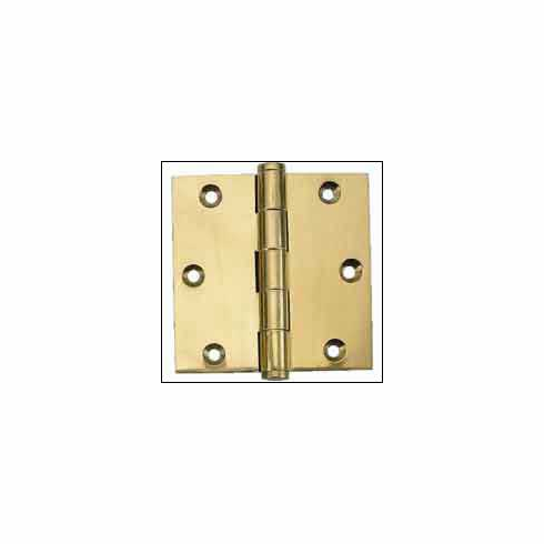 "Brass Accents H07-H8770 Button Tip Hinge 3"" x 2"""