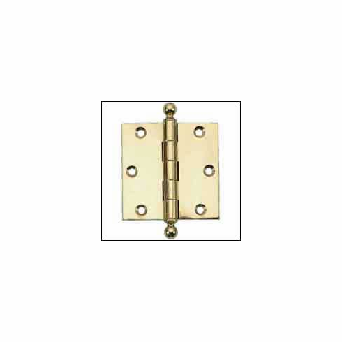 "Brass Accents H07-H8780 Ball Tip Hinge 3"" x 2"""