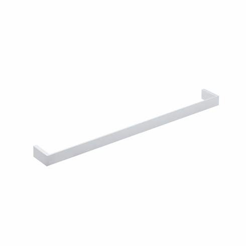 ROHL QU102-STN Rohl Wave And Quartile 24^ Wall Mounted Single Towel Bar In Satin Nickel
