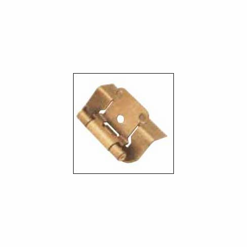 Belwith/Hickory Semi-Concealed P5710F-AB  Hinge, Semi-Concealed Antique Brass (EA)