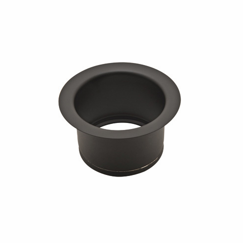 ROHL ISE10082BK Extended 2 1/2^ Disposal Flange Or Throat For Fireclay Sinks And Shaws Sinks In Black