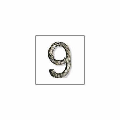 "Buck Snort  LHN9 Decorative House Number Height 4.5"" x 3"""