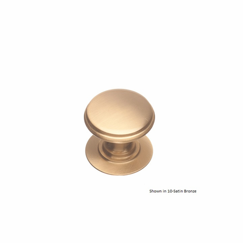 Colonial Bronze 1384 Solid Brass Knob Diameter-1 1/4 inch Projection-1 inch